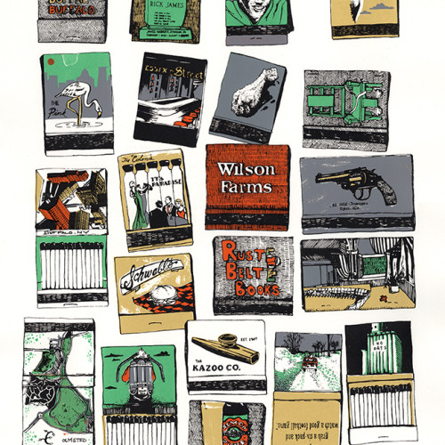 Buffalo Matchbooks