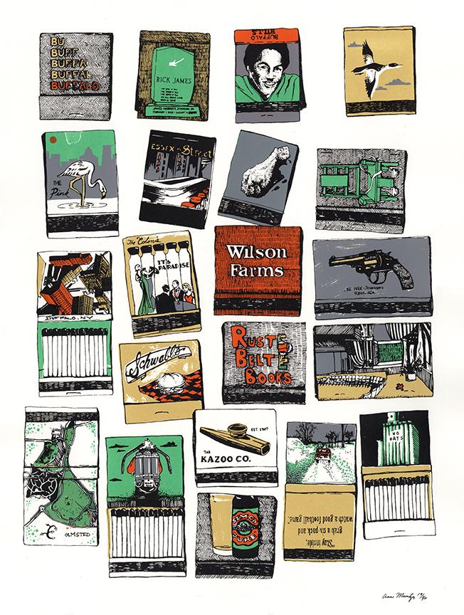 Buffalo Matchbooks